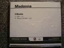 Madonna - 4 minutes US 2-track CD