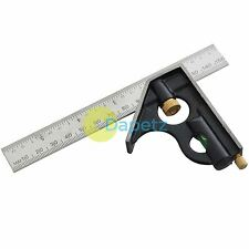 6'' COMBINATION SQUARE STAINLESS STEEL SPIRIT LEVEL MEASURING TOOL