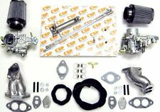 Weber 34 ICT TWIN CARB & COLLETTORE CB KIT-VW T1 ventilata Beetle Motore Tipo 1