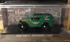 """DIE CAST """" FIAT 500 A - MONDIANO - 1946 """" ADS 1/43"""