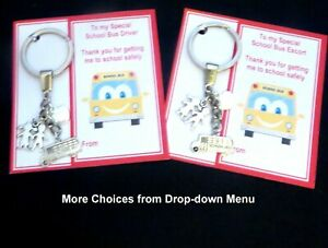 Thank you Gift for School Bus Driver or Bus Escort Lolly Pop Lady Taxi Driver