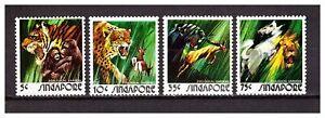 s19952) SINGAPORE MNH** 1973 Animals 4v