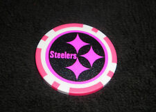 NFL PITTSBURGH STEELERS PINK SOUVENIR COLLECTIBLE POKER CHIP