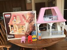 little tikes dollhouse Grandma's House And Accessories And Original Box