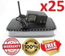 Lot x25 Netgear N150 WNR1000 v2 Wireless-N Router w/ 12v Adapter * WARRANTY *