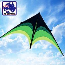 210x103cm Prairie Triangle Delta Kite Grip w/ 100m Line OKIT76802+OKLIN2100