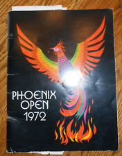 PROGRAM FROM THE P.G.A. PHOENIX OPEN 1972 WITH AUTOGRAPHS BOB HOPE + OTHERS