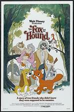 DISNEY THE FOX AND THE HOUND FULL FEATURE 4 X 600FT COLOUR SOUND CINE FILM 8MM