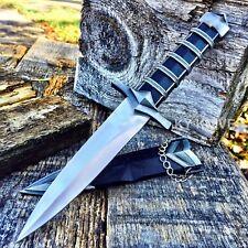 "11"" Dark Assassin Stainless Medieval Short Sword Dagger w/Sheath Knight P"