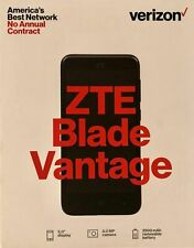 BRAND NEW SEALED ZTE Blade Vantage 4G LTE Verizon Prepaid Phone With $50 Plan