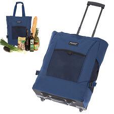 Shopper PUNTA Wheel Einkaufstrolley Einkaufskorb Einkaufsroller Blau 0600 MARINE