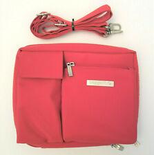 Baggallini Large Wallet Bag Crossbody Waist Shoulder Red Convertible