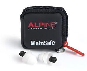 Alpine MotoSafe Tour oder Race Ohrstöpsel Earplugs Motorrad Gehörschutz