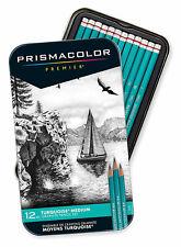 Prismacolor Premier Turquoise Professional Art Drawing Pencils Medium Set & Case