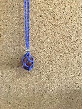 Handmade Macrame Crystal Necklace Holder | Crystal Necklace Holder | Lilallyco