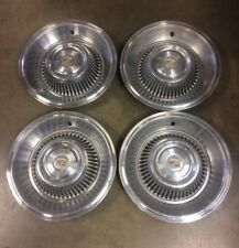 1964 Cadillac Coupe Deville Sedan Fleetwood hubcaps wheel covers set of (4)