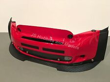 Losi 5ive mini wrc-jsp avant alliage splitter/spoiler avec fixations carbone type