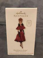 Ravishing in Rouge 2011 Hallmark Barbie Keepsake Ornament