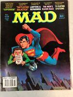 MAD Magazine No. 208 July 1979 Superman Battlestar Galactica Comics