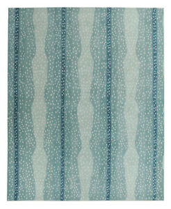 New Brand Antelope Blue Handmade Contemporary Style Wool Area RUG & Carpet