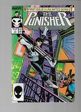 Marvel Comics  The PUNISHER 1  1986 Series  NM/MT  Outstanding Copy