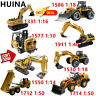 2019 HUINA TOYS 1/10-1/50  RC Excavator Truck Engineering Construction SE