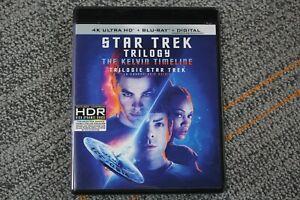Star Trek Trilogy: The Kelvin Timeline (4k Ultra HD + Blu-ray + Digital, 2020)