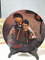 Vintage Music Maker Collector Plate,Norman Rockwell, Bradford Exchange, 1981 NIB
