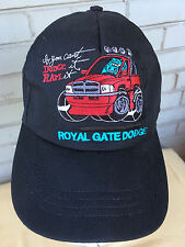 If You Can't Dodge It Ram It Monster Truck Snapback Baseball Cap Hat Royal Gate