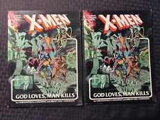 1982 X-MEN God Loves Man Kills Marvel Graphic Novel #5 FN/FN+ 2nd & 5th Edition