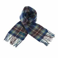 Scottish 100 % Authentic Wool Tartan Holyrood Modern Clan Scarf New !