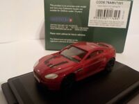 Aston Martin V12 Vantage S, Red, Oxford Diecast 1/76 New Dublo, Railway Scale