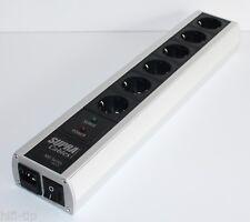 Supra Cables LoRad  MD 06 EU SP MK3 Switch Netzleiste Steckddosenleiste Schalter