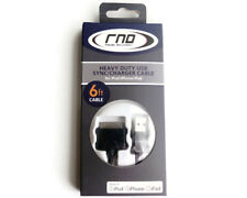 RND Apple Certified Cable for iPad, iPhone, iPod (6 feet/BLACK)