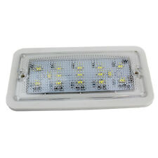 15 LED Coche Techo Domo Techo Lámpara Luz Interior Van Vehículo AUTO DC 12/24V Reino Unido