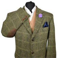 Harris Tweed BARUTTI Country Tailored Hacking Jacket 44S 577 - IMMACULATE JACKET