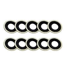 10x For Pontiac Grand Am Cadillac GMC Isuzu Oil Drain Plug Crush Washer Gaskets