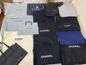 Garment bag Chanel for suits, dress, jacket, LV, coat, shirt