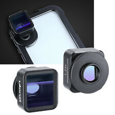 Ulanzi 1.33X Anamorphic Lens Wide-Angle Lens for iPhone/Samsung/OnePlus/Xiaomi