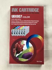 Replacement Ink for Epson Stylus Photo Printers - T0807 fit (PX730WD)