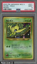2000 Pokemon Japanese Neo 3 Promo #251 Celebi Holo PSA 9 MINT