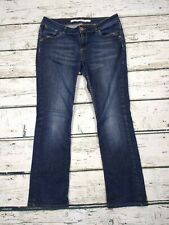 Topshop Martha Low Rise Straight Slim Stretch Jeans W30 L30 Size UK 8