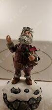 Duncan Royale Nast Musical Santa Music Box Christmas #1570