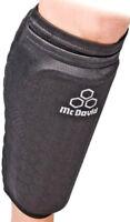 MCDAVID Pro Hex shinguards shin/calf parastinchi calcio calcetto neri cod. 6448R