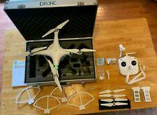 DJI Phantom 3 Standard Quadcopter Drone W321 w/ Hard Case & extra battery