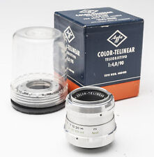 Agfa Color-Telinear Color Telinear 1:4 4 90mm 90 4/90 Objektiv Ambi Silette OVP