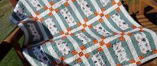 Baby Quilt, Toddler Quilt,Wild Baby Animal Quilt,Polka Dot Quilt, Jungle Nursery