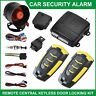 Universal Car Alarm System Remote Control Central Lock Locking Keyless Entry Kit