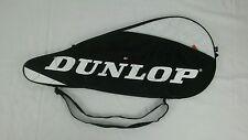 Dunlop AeroGel Zipper Tennis Racket Cover Bag w Adjustable Strap No.1 4 1/8
