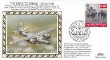 (81563) GB Benham copertura seconda guerra mondiale Drive a Berlino bfps 2462 21 aprile 1995